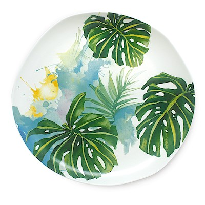 LRA Tropical Garden, Dinner Plate