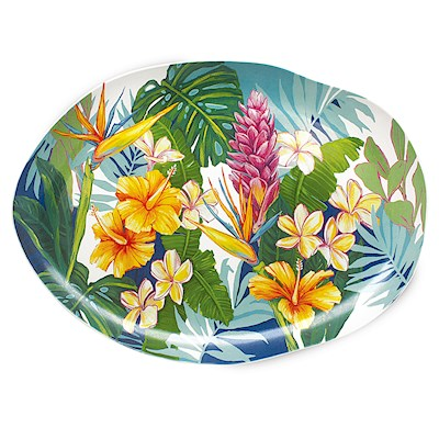 LRA Tropical Garden, Serving Platter