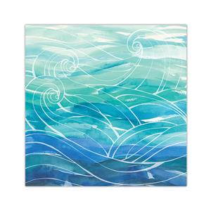 Ocean Dreams 10 X 10 Wall Art, Lauren Roth (Unsigned)