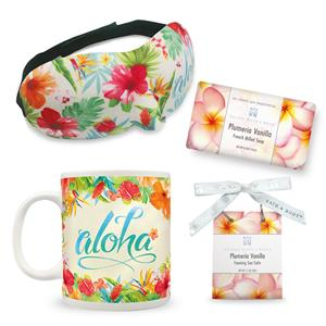 Floral Relaxation Gift Set