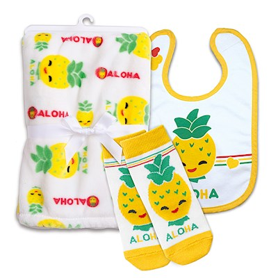 Baby Gift Set, Pineapple Pals