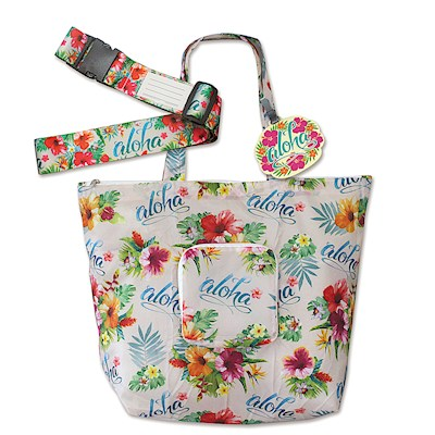 Luggage Accessories Set, Aloha Floral