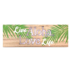 Light Box Rectangle, Live Aloha Love Life