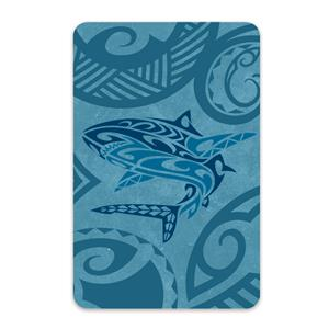 Tribal Shark Playing Cards