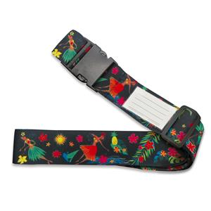 Luggage Strap, Island Hula Honeys - Black