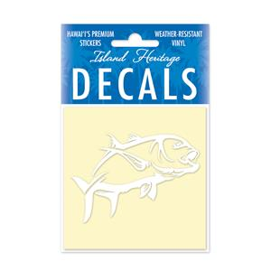 Decal Square, Ulua 2 White