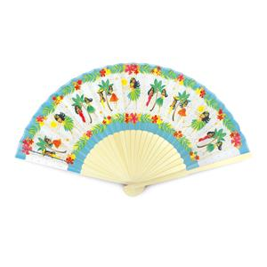 Island Fabric Fan, Island Hula Honeys
