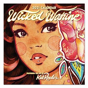 2021 Deluxe Calendar, Wicked Wahine