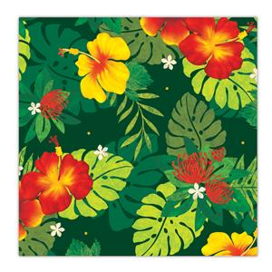 Rolled Gift Wrap,- Floral Monstera -