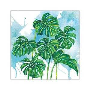 10 X 10 Lauren Roth Wall Art, Monstera Grove (Unsigned)