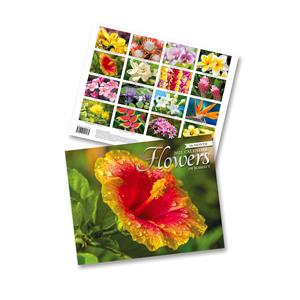 2021 Trade Calendar, Flowers of Hawaii
