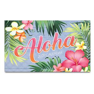 2021 Pocket Calendar, Aloha Palm