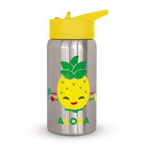 Keiki Kreations Island Yumi Friends Pineapple Pals Flask